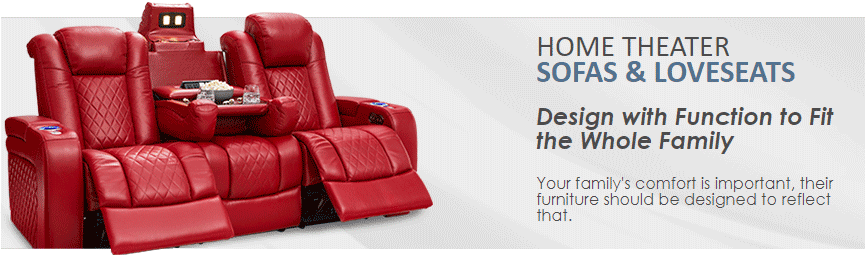 Multimedia Sofas and Sectional
