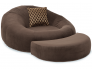 Seatcraft Home Theater Cuddle Seat with Pillows for Couples