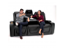 Seatcraft Vienna Media Room Sofa for Home Theater