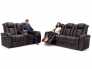 Seatcraft Anthem Home Theater Sofa and Multimedia Loveseat