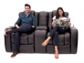 Seatcraft Anthem Multimedia Loveseat For Home Theaters
