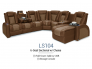 Seatcraft Cadence Two-Tone Multimedia Sectional