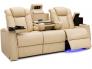 Seatcraft Palladius Luxury Leather Sofa for Media Rooms