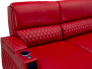 Seatcraft Solarium Custom Made Luxury Leather Sofa