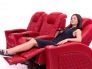Seatcraft Stanza Power Lumbar Home Theater Chairs