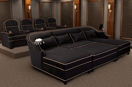 Cavallo Symphony Luxury Home Theater Seating