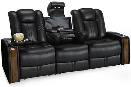 Seatcraft Monte Carlo Sofa 4 Materials, 15+ Colors, Powered Headrest, Power Recline