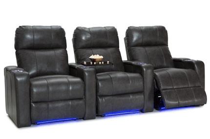 Seatcraft Monterey Top Grain Leather 7000, Powered Headrest, Power Recline, Black, Brown, or Gray