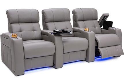 Seatcraft Kodiak 4 Materials, 15+ Colors, Powered Headrest & Lumbar, Power Recline, Straight Rows