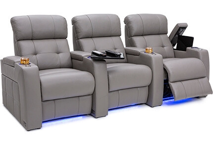 Seatcraft Kodiak Top Grain Leather 7000, Powered Headrest & Lumbar, Power Recline, Black, Brown, Red, or Gray