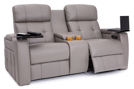 Seatcraft Arctic Loveseat 3 Materials, 15+ Colors, Powered Headrest & Lumbar, Power Recline