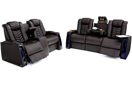 Seatcraft Prodigy Sofa & Loveseat 3 Materials, 15+ Colors, Powered Headrest & Lumbar, Power Recline