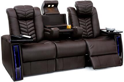 Seatcraft Prodigy Sofa 3 Materials, 15+ Colors, Powered Headrest & Lumbar, Power Recline