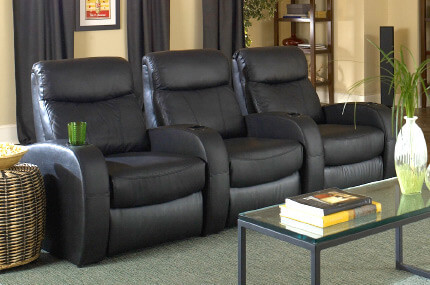 Seatcraft Rialto Top Grain Leather 5000, Power or Manual Recline, Black or Brown