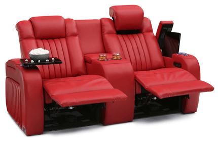 Seatcraft Spire Loveseat 3 Materials, 15+ Colors, Powered Headrest & Lumbar, Power Recline