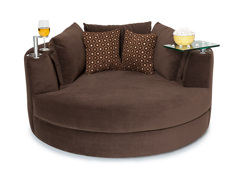 Seatcraft Swivel Cuddle Couch