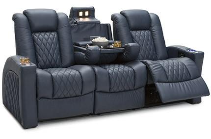 Seatcraft Cadence Sofa, 4 Materials, 15+ Colors, Powered Headrest & Lumbar, Power Recline