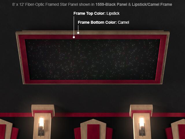 SoundRight Framed Fiber-Optic Star Panel