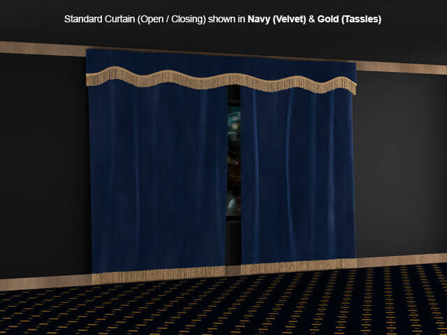 SoundRight Open/Close Curtains