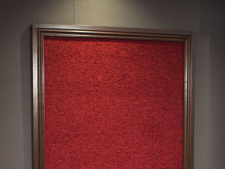 SoundRight Wood Framed Wall Panel for Home Theater Acoustics