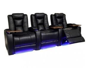 Lane 160 Allstar Bonded Leather, Power Recline, Black or Brown