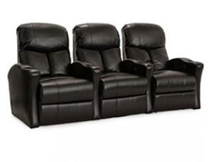 Lane 175 Grand Bonded Leather, Power or Manual Recline, Black