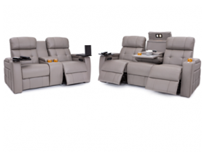 Seatcraft Arctic Sofa & Loveseat 3 Materials, 15+ Colors, Powered Headrest & Lumbar, Power Recline