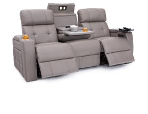 Seatcraft Arctic Sofa 3 Materials, 15+ Colors, Powered Headrest & Lumbar, Power Recline