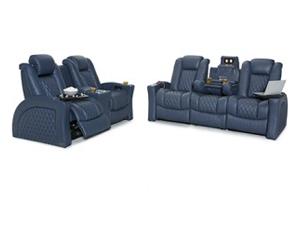 Seatcraft Cadence Sofa and Loveseat 4 Materials, 15+ Colors, Powered Headrest & Lumbar, Power Recline