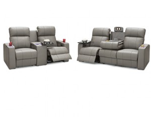 Seatcraft Calistoga Sofa and Loveseat 4 Materials, 15+ Colors, Powered Headrest, Power Recline