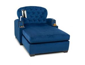 Cavallo Chateau Media Lounge Chaise Bella Fabric, 60+ Colors
