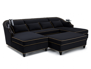 Cavallo Chorus Media Lounge Sofa Bella Fabric, 60+ Colors