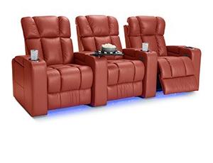 Palliser Collingwood Top Grain Leather, Powered Headrest, Power Recline, Black, Brown, Storm, or Red