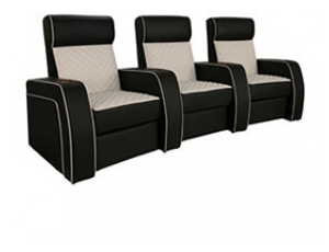 Cavallo Continental 2 Materials, 95+ Colors, Power or Manual Recline, Straight or Curved Rows
