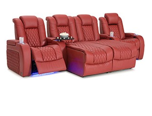 Seatcraft Diamante Chaise 4 Materials, 15+ Colors, Powered Headrest, Power Recline, Straight Rows