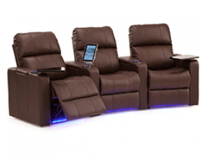 Palliser Elite 41952 11 Materials, 190+ Colors, Power or Manual Recline, Straight or Curved Rows