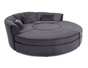 Cavallo Empyrean Media Lounge Sofa 2 Materials, 60+ Colors