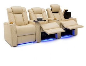 Seatcraft Enigma 2 Materials, 15+ Colors, Powered Headrest & Lumbar, Power Recline, Straight Rows