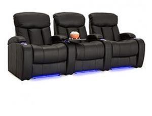 Seatcraft Grenada Top Grain Leather 7000, Power or Manual Recline, Black or Brown