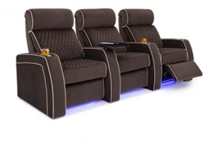 Cavallo Haven 2 Materials, 95+ Colors, Powered Headrest & Lumbar, Power Recline, Straight or Curved Rows