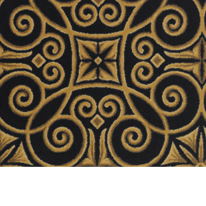 Joy Antique Scroll Home Theater Carpet