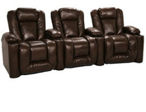 Klaussner Augustus Bonded Leather, Power or Manual Recline, Black or Brown