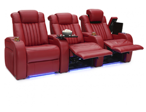 Seatcraft Mantra 3 Materials, 15+ Colors, Powered Headrest & Lumbar, Power Recline, Straight Rows