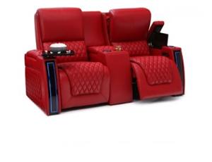 Seatcraft Marathon Loveseat 3 Materials, 15+ Colors, Powered Headrest & Lumbar, Power Recline