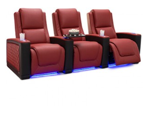 Seatcraft Maxim Two-Tone 3 Materials, 15+ Colors, Powered Lumbar & Headrest, Power Recline, Straight Rows