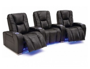 Palliser Media 41402 11 Materials, 190+ Colors, Power or Manual Recline, Straight or Curved Rows