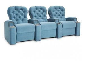 Cavallo Monarch 2 Materials, 95+ Colors, Power or Manual Recline, Straight or Curved Rows
