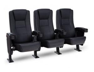 Seatcraft Montago Movie Seats, Vinyl, Black