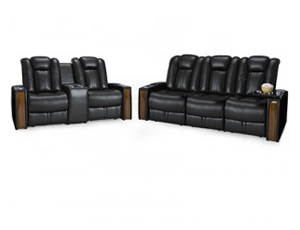 Seatcraft Monte Carlo Sofa and Loveseat 4 Materials, 15+ Colors, Powered Headrest, Power Recline