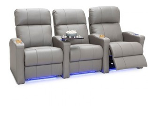 Seatcraft Napa Spacesaver Top Grain Leather 7000, Powered Headrest, Power Recline, Black, Brown, or Gray